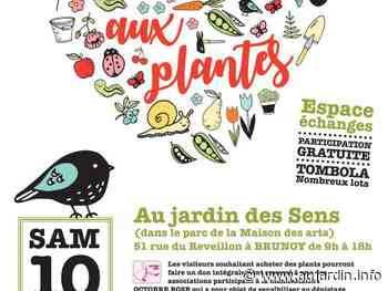 4ème Bourse aux plantes solidaire à BRUNOY - 10/10/2020 - Au Jardin