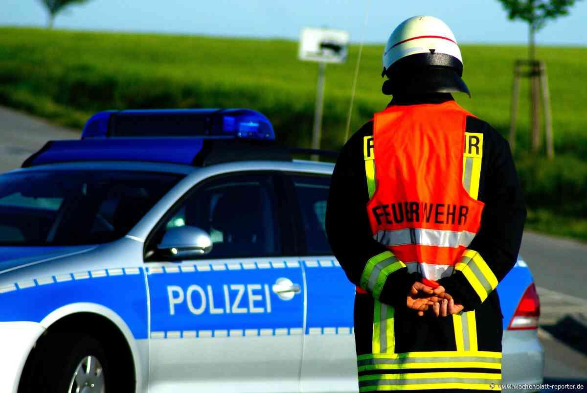 Plötzlicher Brand auf Baugelände in Dettenheim: Feuerwehr im Einsatz - Dettenheim - Wochenblatt-Reporter