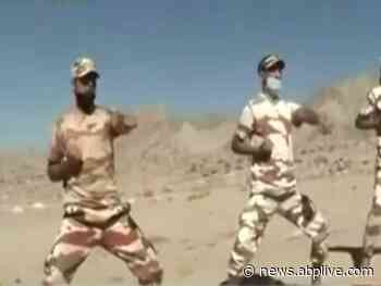 Ladakh standoff: Indian Army gets martial arts training - ABP Live