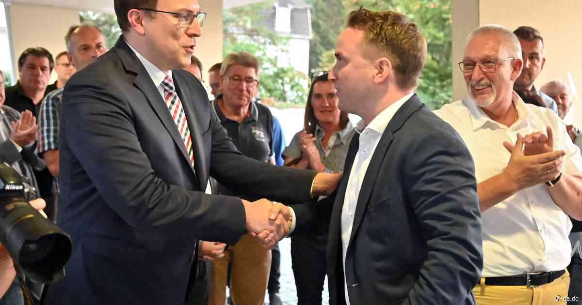 Nachfolger von Bernd Weidenbach: Marcel Caspers ist Bürgermeister in Bad Breisig - General-Anzeiger Bonn
