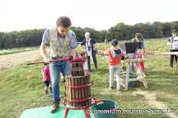La Cueillette du chapeau de paille à Saint-Gratien organise sa fête aux pommes et aux courges - Courrier picard