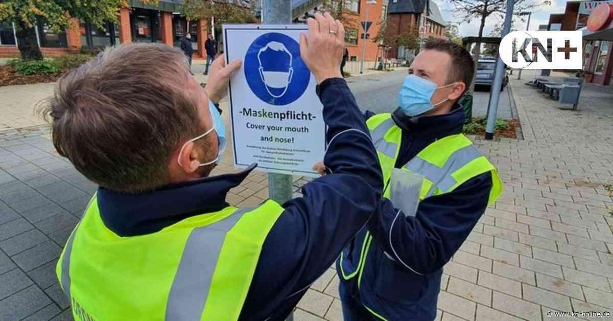 Bordesholm: So wird auf die Maskenpflicht in der Bahnhofstraße reagiert - Kieler Nachrichten