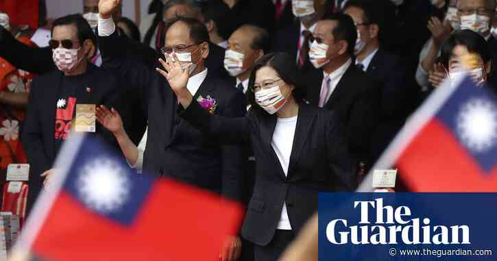 Taiwan's president calls for less tension with China in annual address