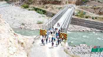 Cajamarca: construyen puente para sacar del aislamiento a distritos de Chota - LaRepública.pe