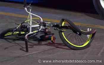 Atropellan a ciclista en Jalpa de Méndez - El Heraldo de Tabasco