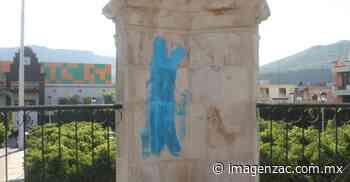 Vandalizan el kiosco de la Plaza Aréchiga en Jalpa - Imagen Zacatecas - Imagen de Zacatecas, el periódico de los zacatecanos