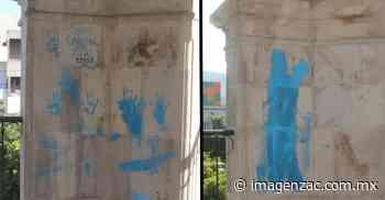 Vandalizan el kiosko de Jalpa tras su reapertura por el Covid-19 - Imagen Zacatecas - Imagen de Zacatecas, el periódico de los zacatecanos