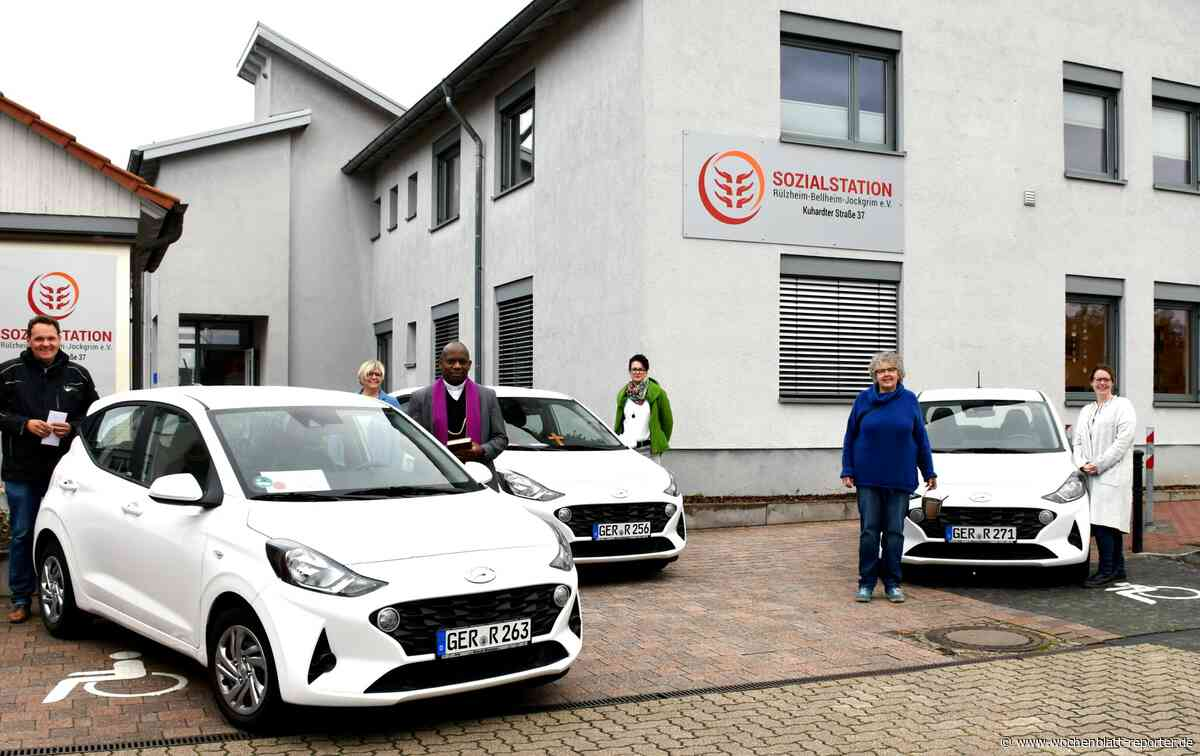 Gottes Segen aus Uganda für neue Fahrzeuge: Sozialstation Rülzheim-Bellheim-Jockgrim erweitert Fuhrpark - Rülzheim - Wochenblatt-Reporter