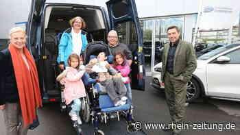 HUL unterstützt Ochtendunger Familie: Ein neues Auto für Jamie - Rhein-Zeitung