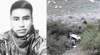 Un policía de 'Los Sinchis de Mazamari' fallece en accidente de tránsito - LaRepública.pe