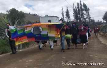 Los jóvenes indígenas analizan y evalúan el levantamiento del octubre, en Pujilí - El Comercio (Ecuador)