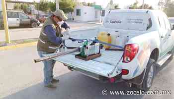 Llega equipo de fumigación a Zaragoza [Coahuila] - 08/10/2020 - Periódico Zócalo