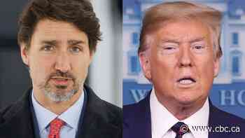 Trudeau and Trump discuss COVID-19 diagnosis, detained Canadians in Saturday phone call