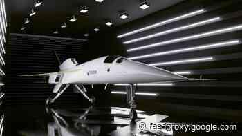Boom unveils prototype supersonic jet