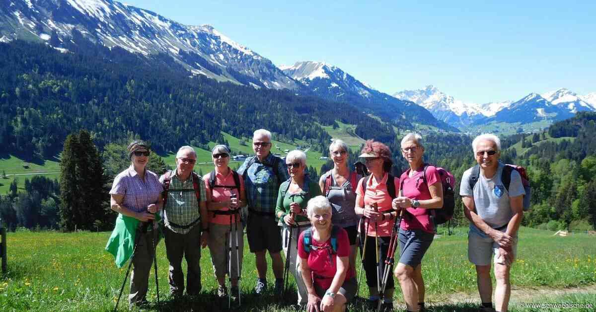 Abteilung Ski und Wandern des TSV Meckenbeuren bietet im Jahr 2019 ein buntes Programm - Schwäbische