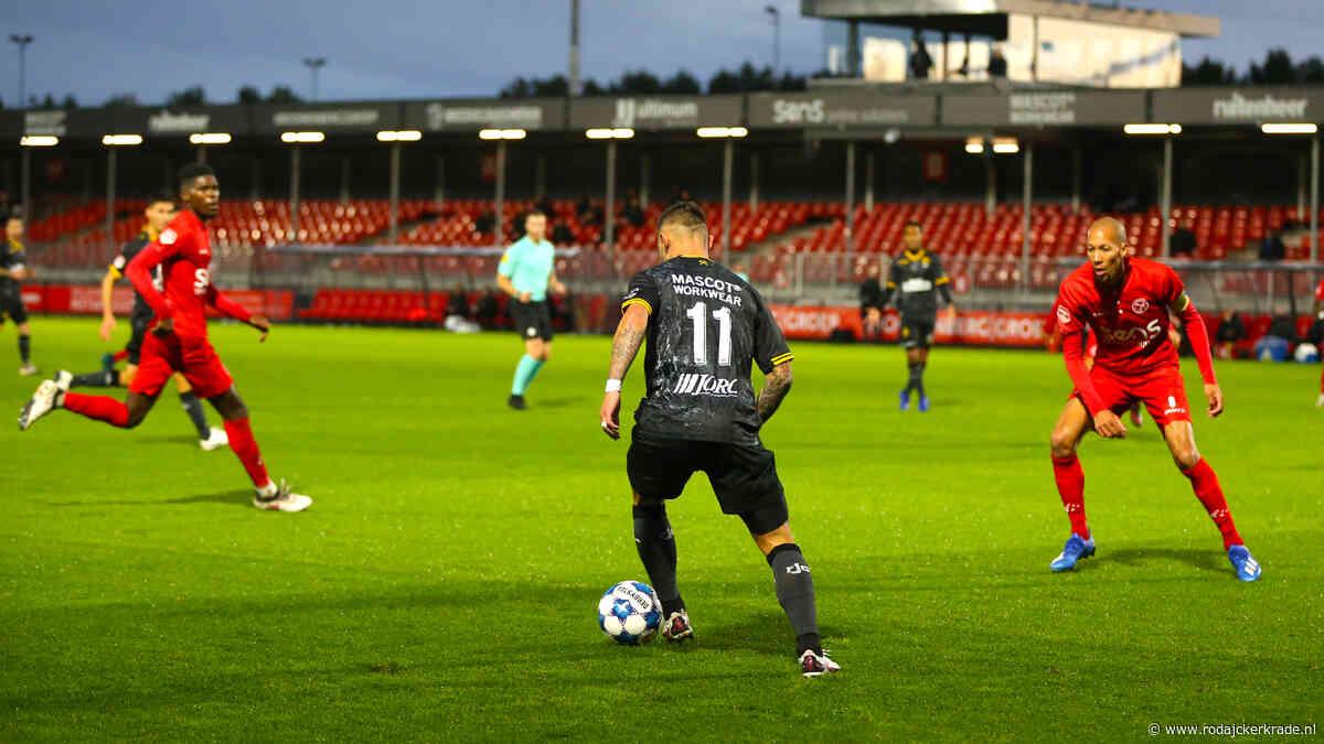 Roda JC geeft vroege voorsprong weg tegen Almere City FC