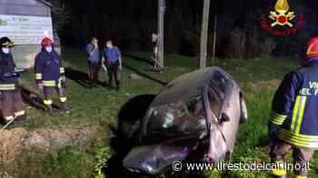 Incidente Molinella, va fuori strada con l'auto e finisce nel fosso. Ferito - il Resto del Carlino