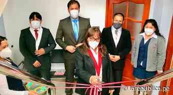 Cajamarca: instalan Juzgado Civil Transitorio en la provincia de Cajabamba - LaRepública.pe