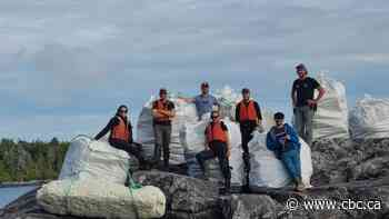Nearly 130 tonnes of garbage removed from B.C. shoreline during cleanup effort