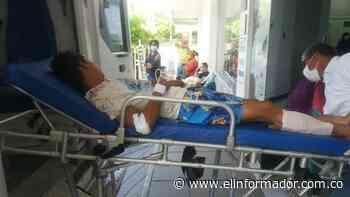 Tres heridos en accidente en la Zona Bananera - El Informador - Santa Marta
