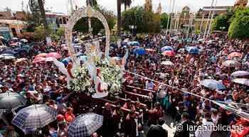 Lambayeque: suspenden actividades por festividad de la Cruz de Motupe - LaRepública.pe