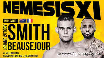 Watch Muay Thai event NEMESIS 11: Toby Smith vs Johane Beausejour (video) - FIGHTMAG