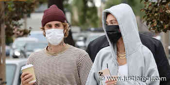 The Biebers Hold Hands While Out on Lunch Date