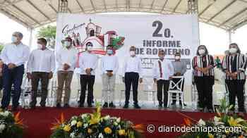 Edil de Suchiapa realiza su Segundo Informe - Diario de Chiapas