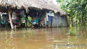 Desbordamiento de arroyo deja varias poblaciones incomunicadas en San Pelayo - Diario La Libertad