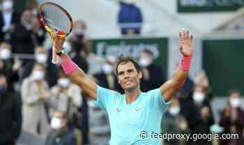 Rafael Nadal trying to copy Roger Federer and Serena Williams feat in French Open final