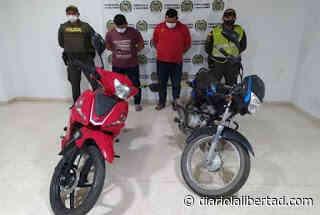 Tras robar dos motos en La Jagua de Ibirico fueron capturados - Diario La Libertad