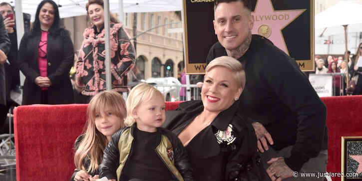 Pink's Husband Carey Hart Teaches the Kids to Shoot Guns & Defends His Politics