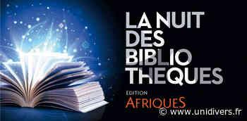 ANNULÉ : Ateliers « Nouvelles de Montaubout » à la Médiathèque d'Annoeullin vendredi 2 octobre 2020 - Unidivers