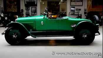 1922 Wills Sainte Claire on Jay Leno's Garage - Motor Authority