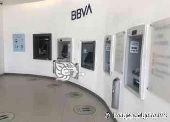 Cierra Bancomer en Plaza Florida de Oluta - Imagen del Golfo