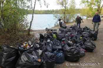 Beaumont-sur-Oise : le lac des Ciments répare les dégâts d'un été d'intrusions record - Le Parisien