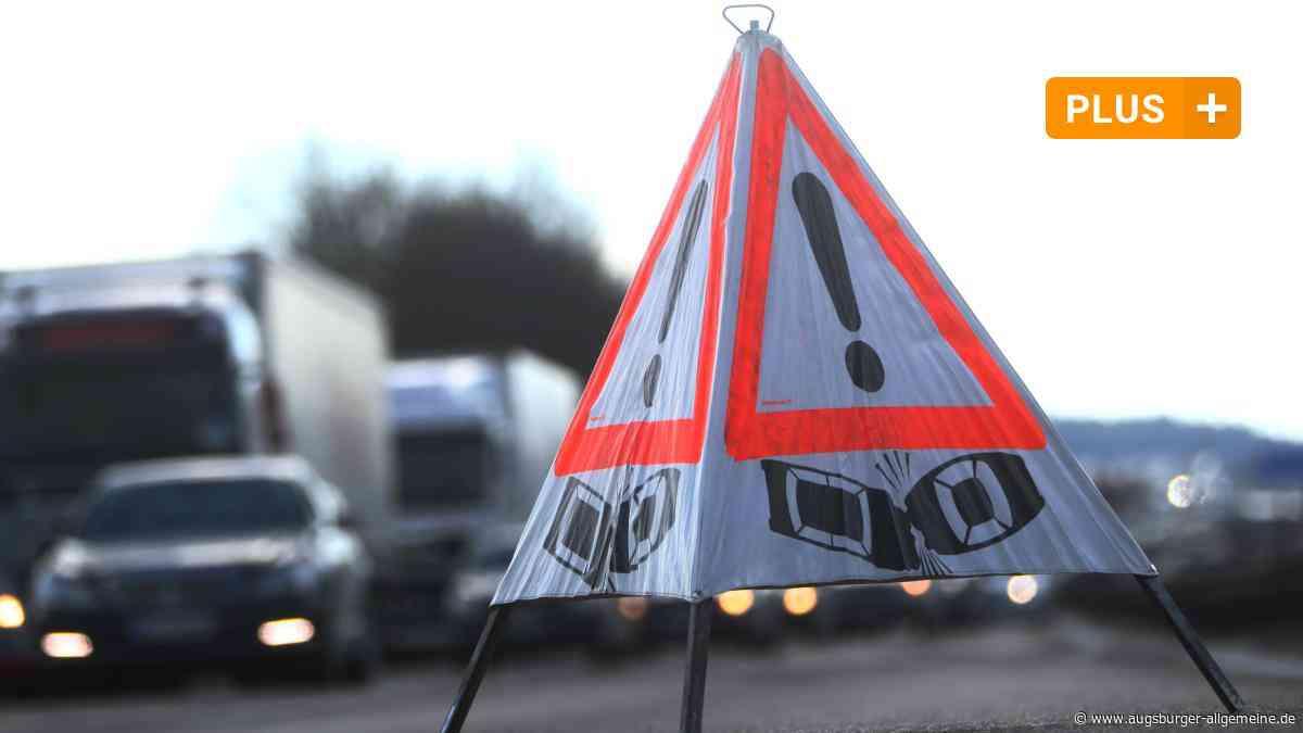Staus und Unfälle zum Herbstferienbeginn auf der A7 - Augsburger Allgemeine