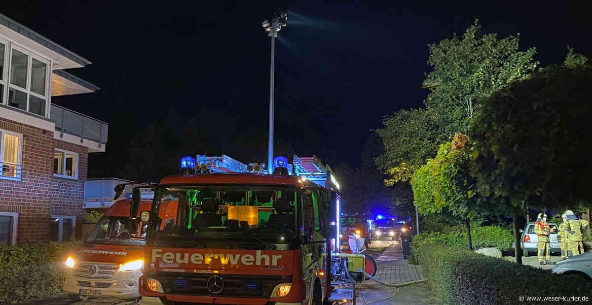19 Bewohner evakuiert - WESER-KURIER