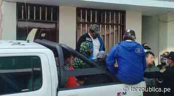 La Libertad: jefe de transportes de distrito es detenido libando licor - LaRepública.pe