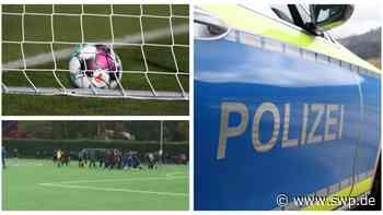 Massenschlägerei bei Fußballspiel: Spielabbruch in Metzingen – Polizei rückt mit mehreren Streifenwagen an - SWP