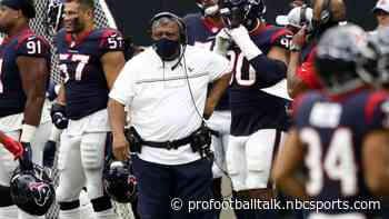 Romeo Crennel got the attitude and energy he was looking for