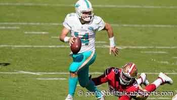 Ryan Fitzpatrick and the Dolphins dominate the 49ers