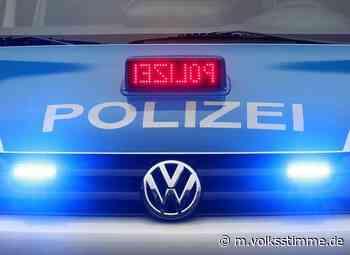Polizei Dieb fährt sich in Oschersleben fest - Volksstimme