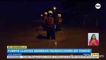 Noticias Desborde de río Tonosí afecta viviendas en Los Santos - TVN Panamá