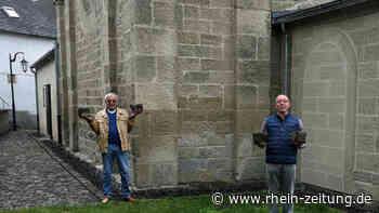 Basaltpflasterarbeiten an der Marienkapelle in Volkesfeld sind vollendet - Rhein-Zeitung