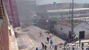 Queman sede de la alcaldía de Chivacoa en medio de protestas por servicios básicos - NTN24