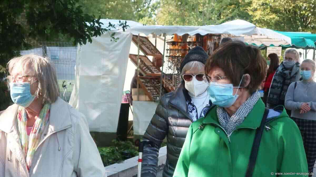 Herbstmarkt im Kurpark von Bad Sassendorf funktioniert auch mit Maske - soester-anzeiger.de