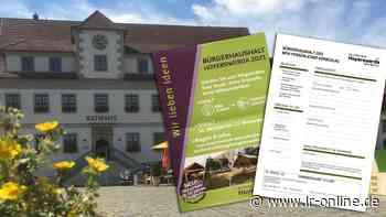 Bürgerbeteiligung: Hoyerswerda sucht Ideen für den Bürgerhaushalt 2021 - Lausitzer Rundschau