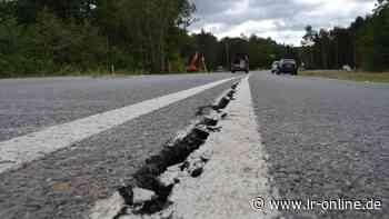 Bergbaufolge: B 97 zwischen Spreetal und Hoyerswerda wird bis Ende November repariert - Lausitzer Rundschau