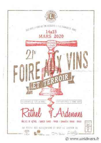 22e Foire aux vins et terroir samedi 20 mars 2021 - Unidivers